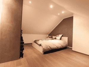 idée combles aménagés : une chambre d\'ado - Aménagement de combles ...
