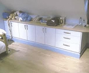 rangement chambre sous comble
