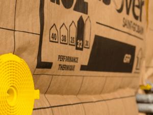 Isolation thermique combles aménagés par laine de verre ISOVER